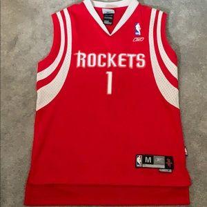 Rockets 1 Tracy McGrady Houston Rockets Sewn VTG